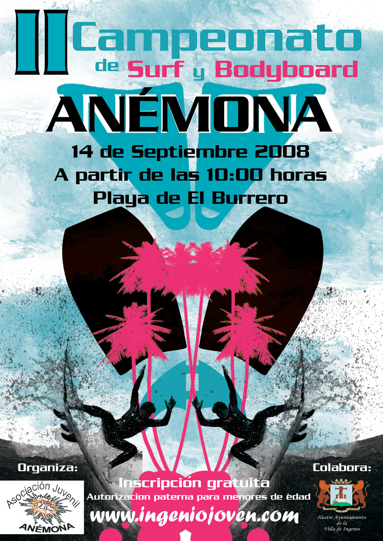 Promo 2º Campeonato Surf & Bodyboard Anémona 2008