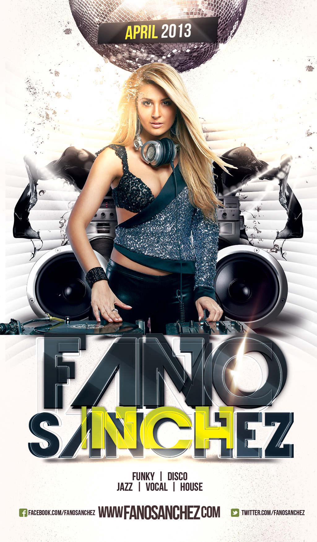 Fano Sanchez – Session April 2013