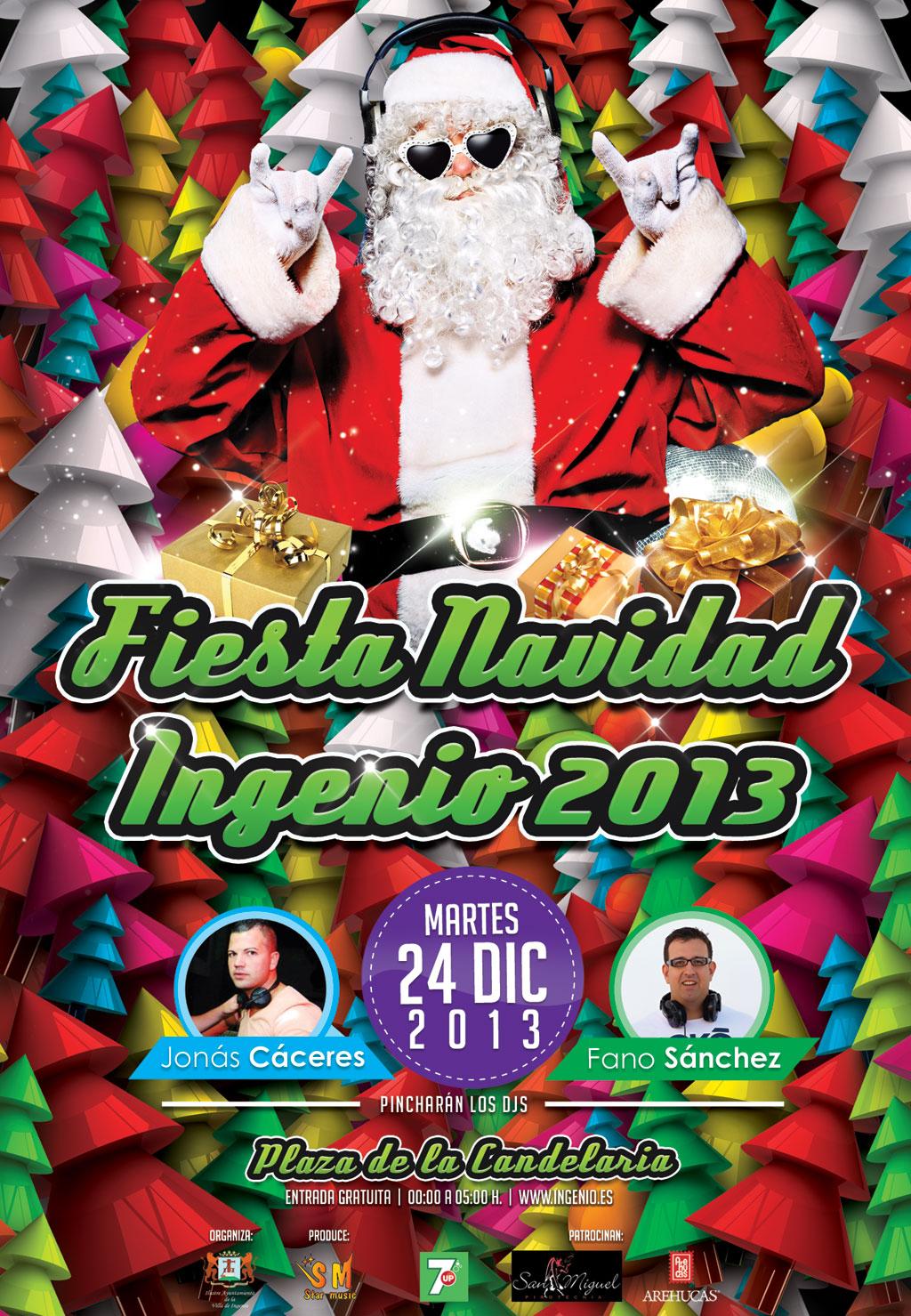 Promo Fiesta Fin de Año Villa de Ingenio 2013