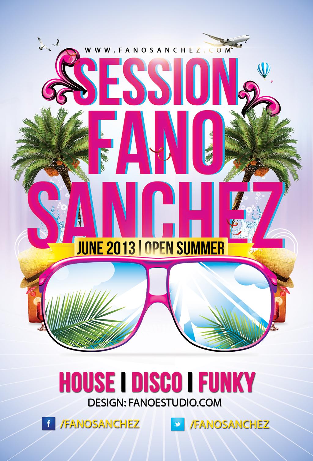 Fano Sánchez – Sesión Junio 2013