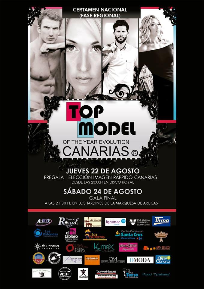 Presentación Top Model Canarias 2013