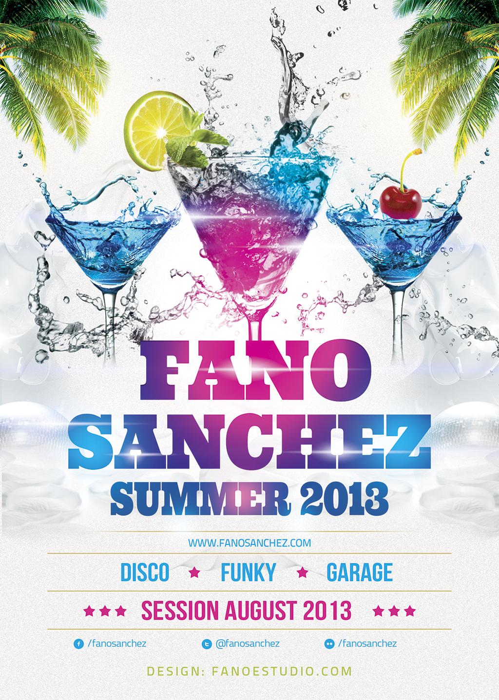 Fano Sánchez – Sesión Agosto 2013