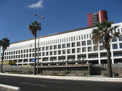 Fiesta Navidad Hospital Insular de Gran Canaria 2013