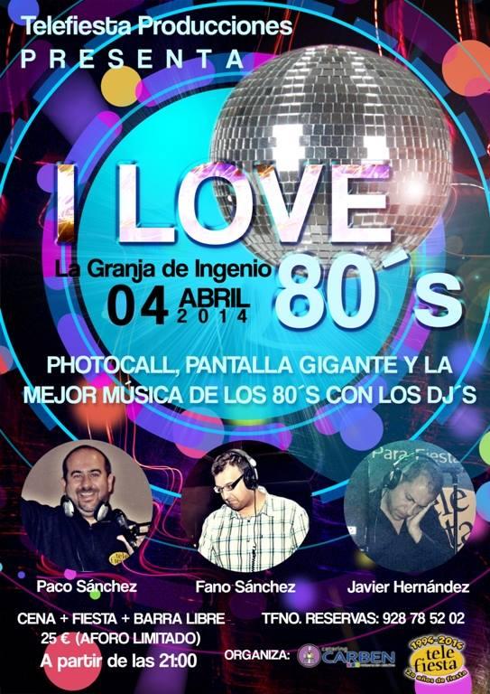 Fiesta I Love 80s 2014