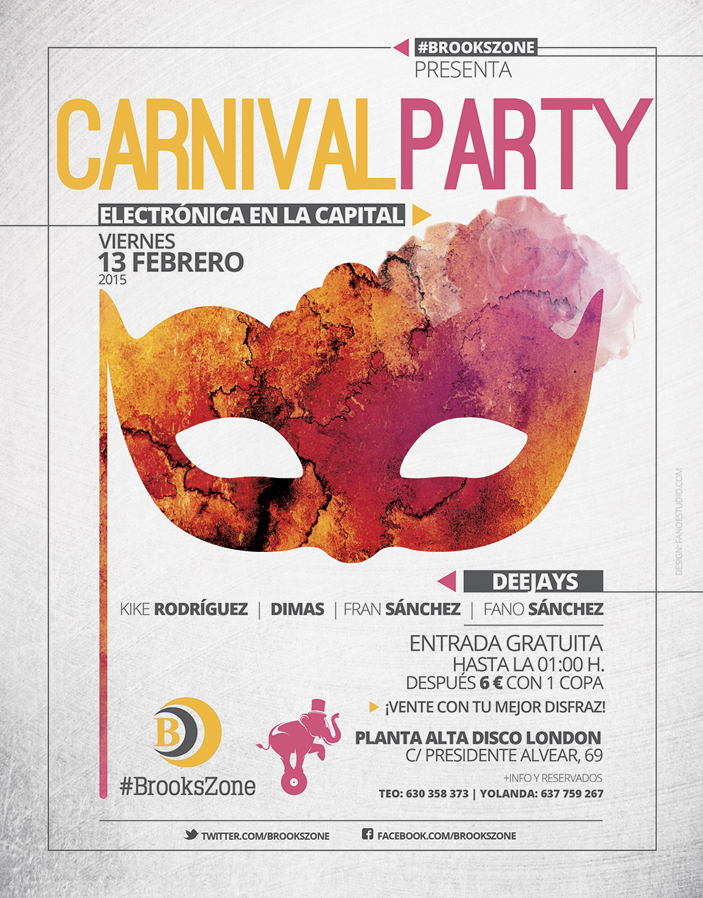 Carnival Party #BrooksZone 2015