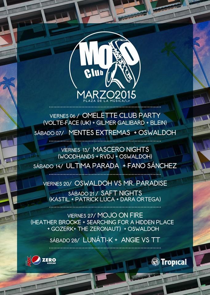 Mojo Club 14 Marzo