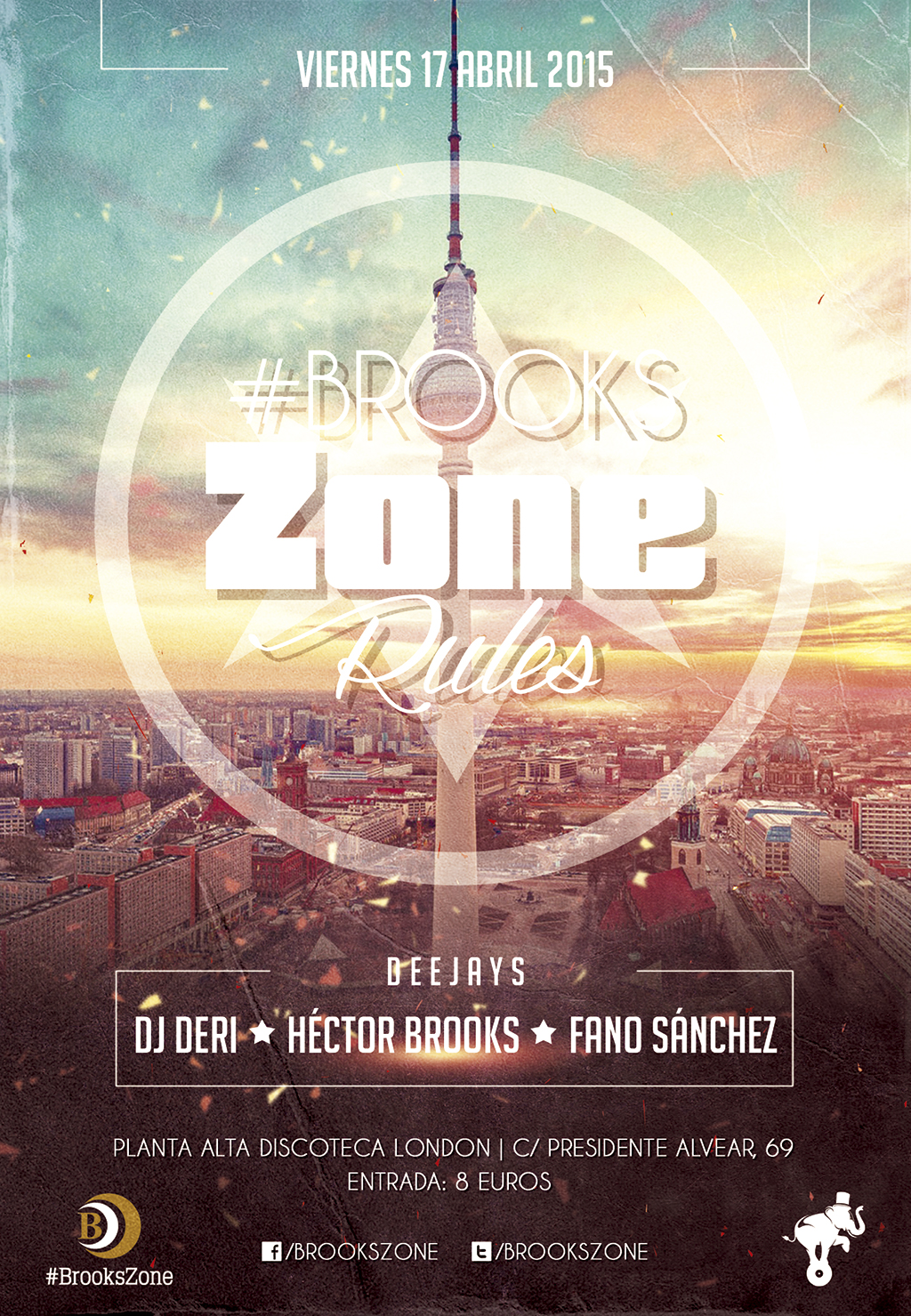 #BrooksZone Rules 17 Abril