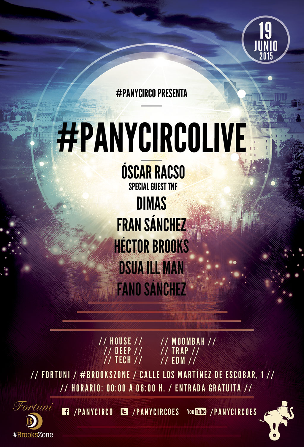 #panycircoLIVE 19 Junio