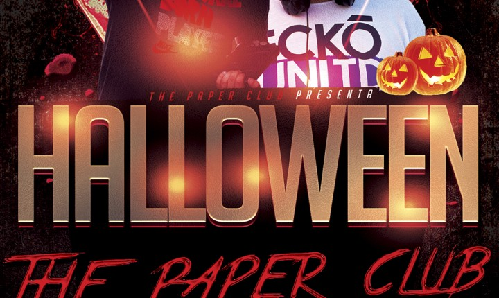 Fiesta Halloween en The Paper Club 2015