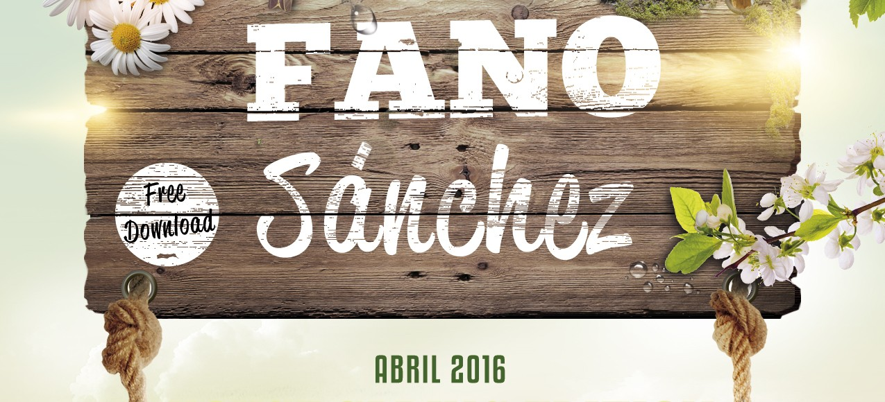 Fano Sánchez – Session House Spring Abril 2016