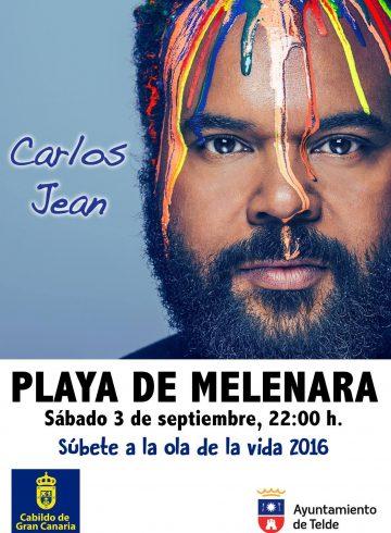 Concierto Carlos Jean 3 Septiembre