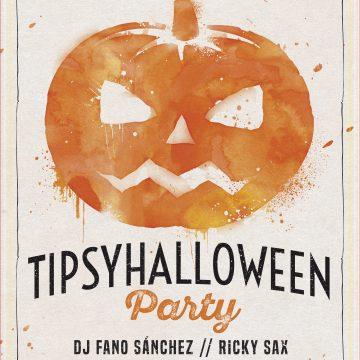 Fano Sánchez – Tipsy Halloween 31 Octubre 2016
