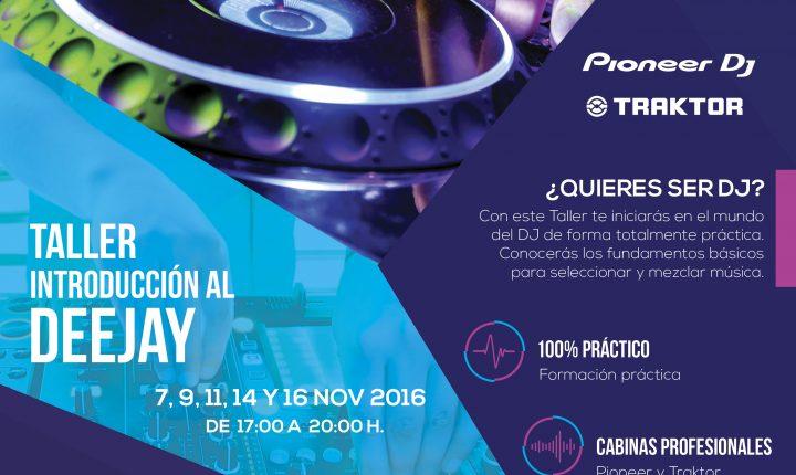Taller Introducción al DJ en Arguineguín