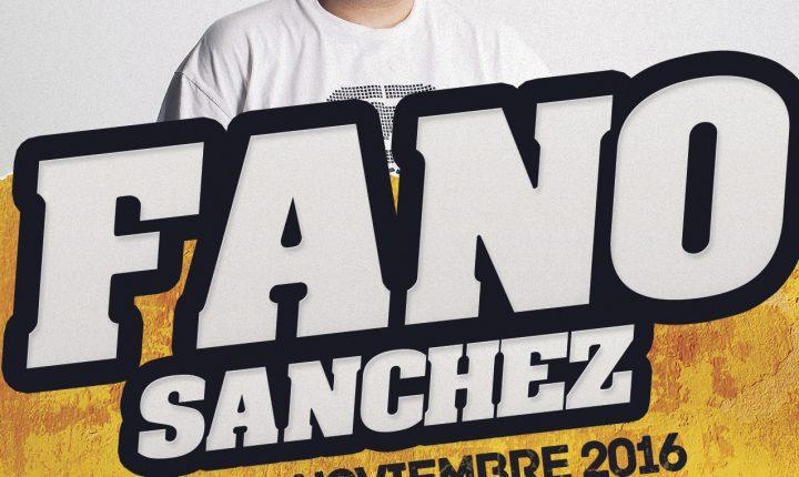 Fano Sánchez – Agenda Noviembre 2016
