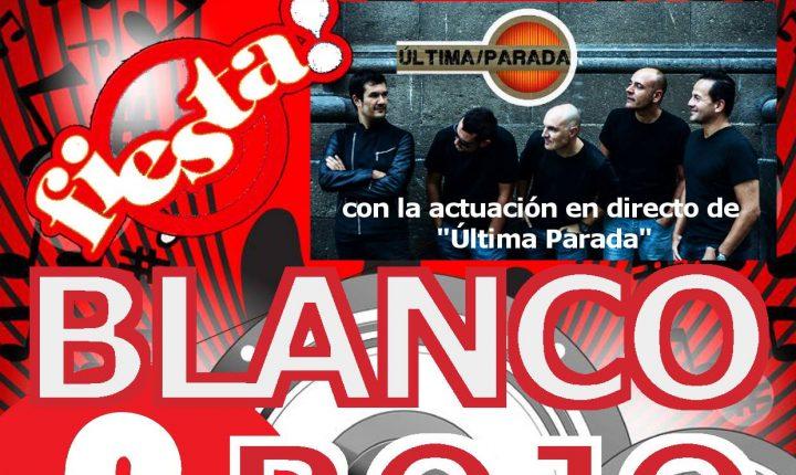 Fiesta Blanco y Rojo con Última Parada en el Club Marítimo Varadero