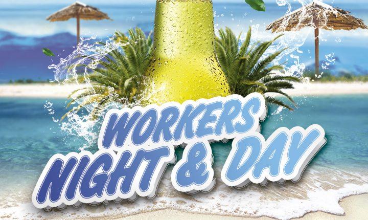 Workers Day en Tipsy Hammock Bar