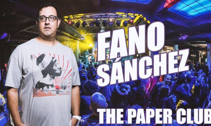 Fano Sánchez – The Paper Club 2017
