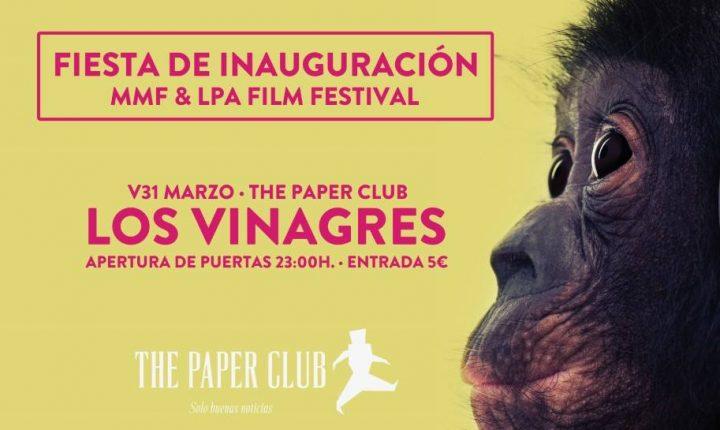 Fiesta Inauguración Monopol Music Festival y LPA Film Festival 2017 en The Paper Club