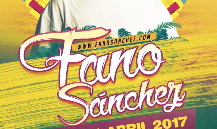 Fano Sánchez – Agenda Abril 2017
