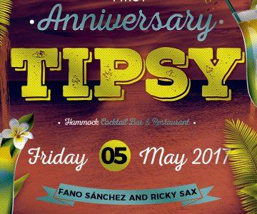 Primer Aniversario Tipsy Hammock Bar