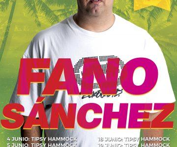Fano Sánchez – Agenda Junio 2017