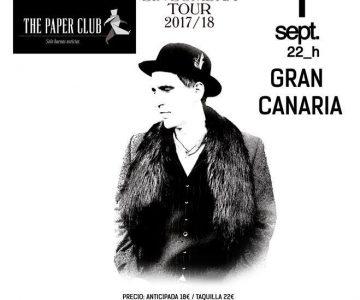 The Paper Club con Mikel Erentxun 1 Septiembre