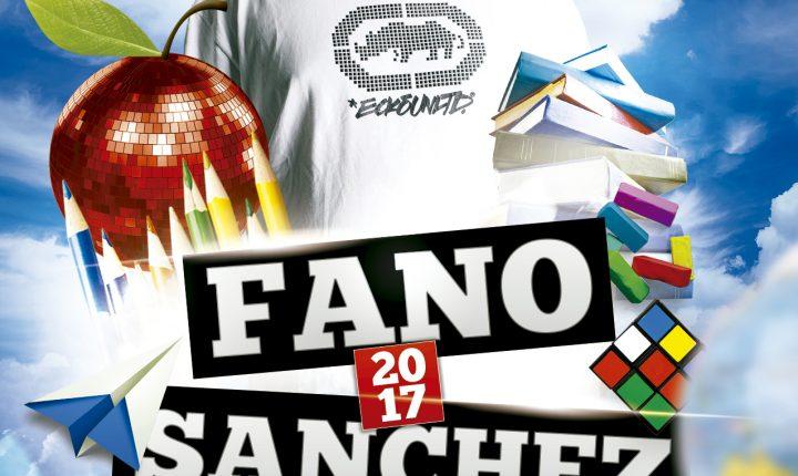 Fano Sánchez – Agenda Septiembre 2017