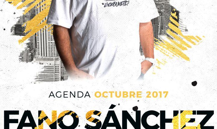 Fano Sánchez – Agenda Octubre 2017