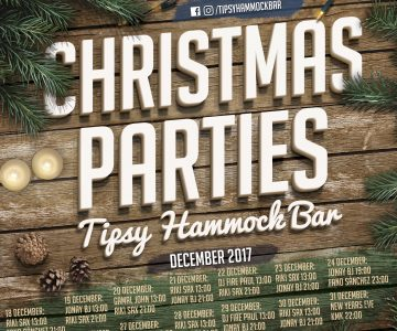 Fano Sánchez – Navidades en Tipsy Hammock Bar 2017