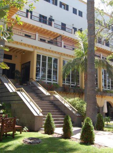 Boda Hotel Escuela Santa Brígida 21 Julio