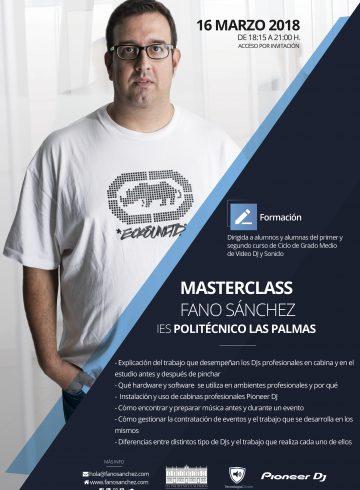 Masterclass IES Politécnico 16 Marzo