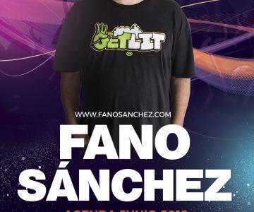 Fano Sánchez – Agenda Junio 2018