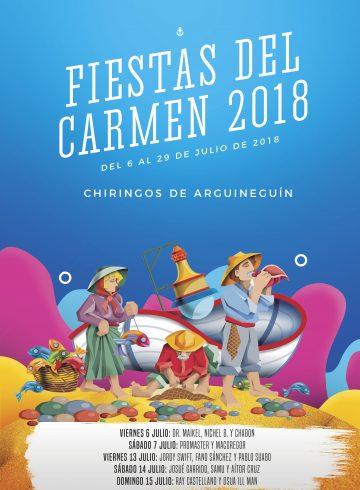 Fiestas del Carmen 13 Julio