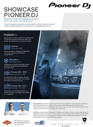 Showcase Pioneer DJ 13 Noviembre