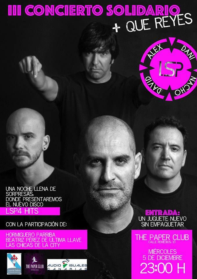 Los Salvapantallas The Paper Club 5 Diciembre 2018