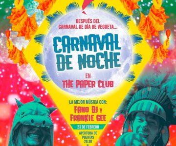 Fano Sánchez – Carnaval De Noche en The Paper Club 2019