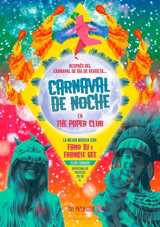 The Paper Club Carnaval Febrero 2019