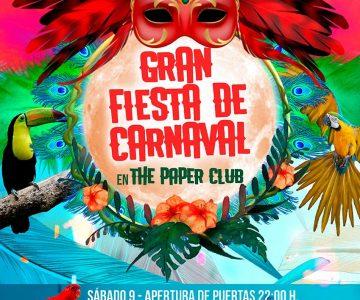 Fano Sánchez – The Paper Club Gran Fiesta de Carnaval 2019