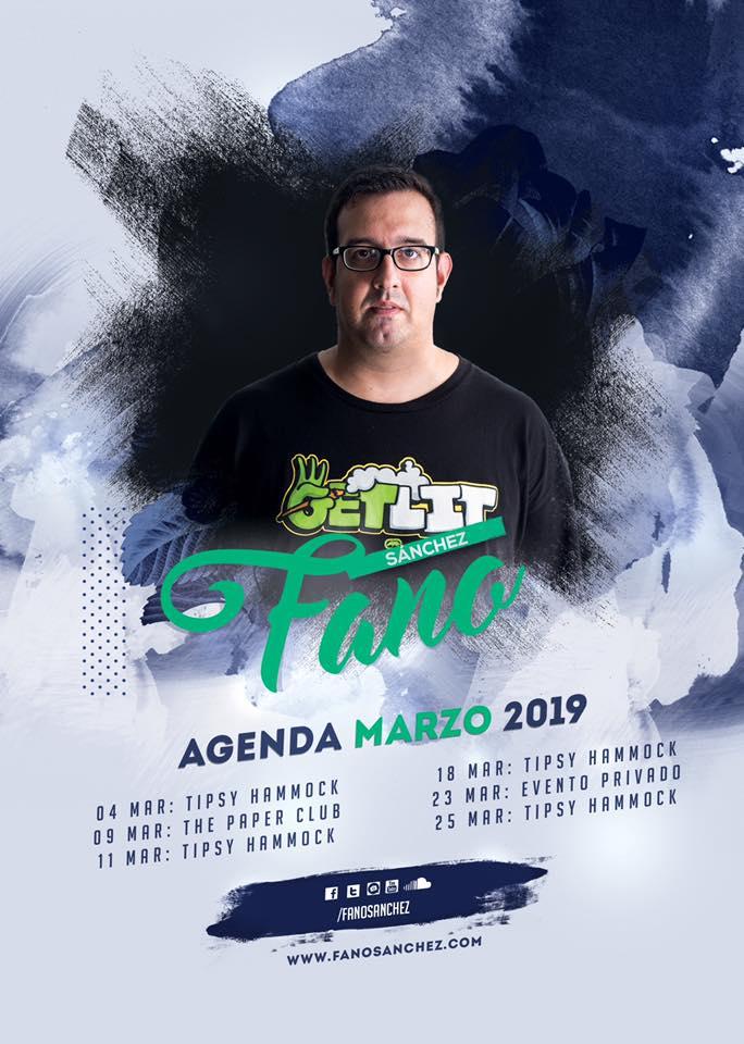 fano sanchez agenda marzo 2019