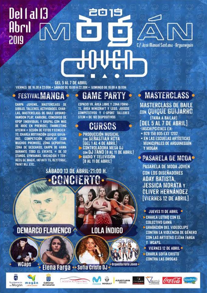 Cartel Curso DJ Mogan Joven 2019