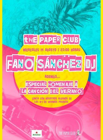 The Paper Club 14 Agosto