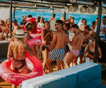 Fiesta Privada Barco Julio 2019