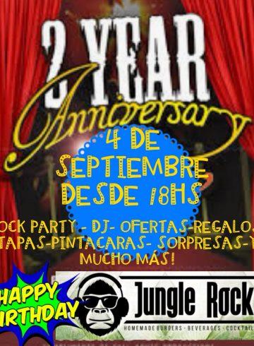Jungle Rock 4 Septiembre