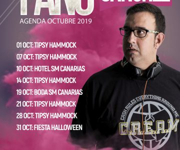 Fano Sánchez – Agenda Octubre 2019