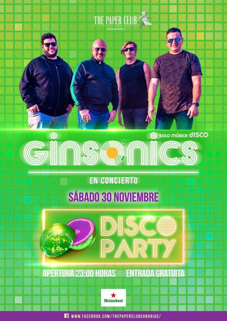 the paper club concierto 28 Noviembre 2019