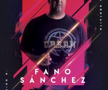 Fano Sánchez – The Paper Club 6 Diciembre 2019