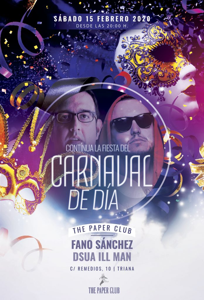 Cartel-Carnaval-de-Dia-The-Paper-Club-Febrero-2020-web