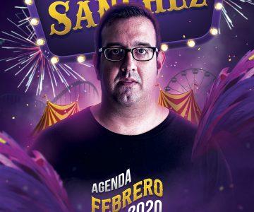 Fano Sánchez – Agenda Febrero 2020