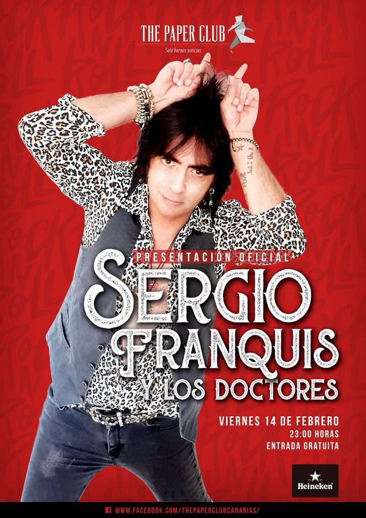 The Paper Club Sergio Franquis 14 Febrero 2020