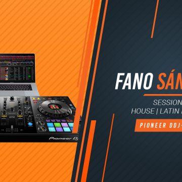 Fano Sánchez – Session Pioneer DDJ-800